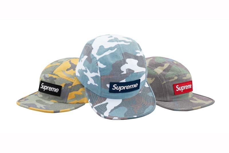 Supreme 2019 春夏帽款系列