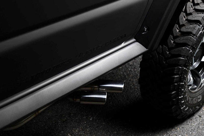 霸氣無匹 − 搶先預覽 SUZUKI Jimny 全新 4x4 黑魂改裝版本