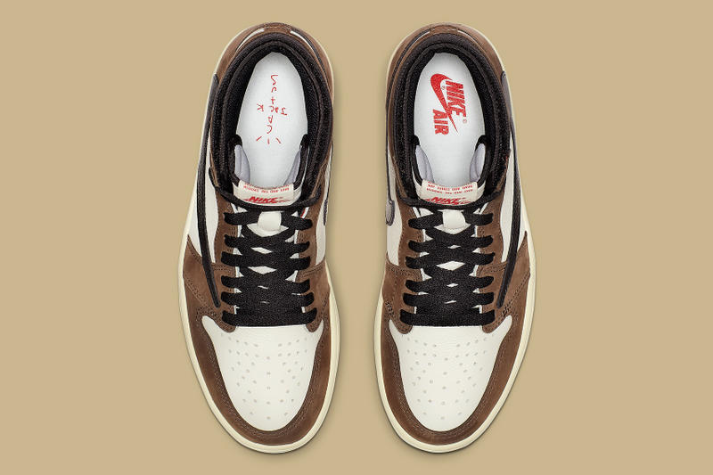 Travis Scott x Air Jordan 1 Retro High OG 官方圖片公開