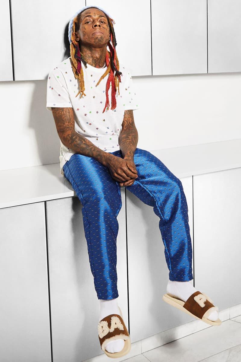 獨家: Lil Wayne 出鏡 A BATHING APE® x UGG 聯乘系列造型大片
