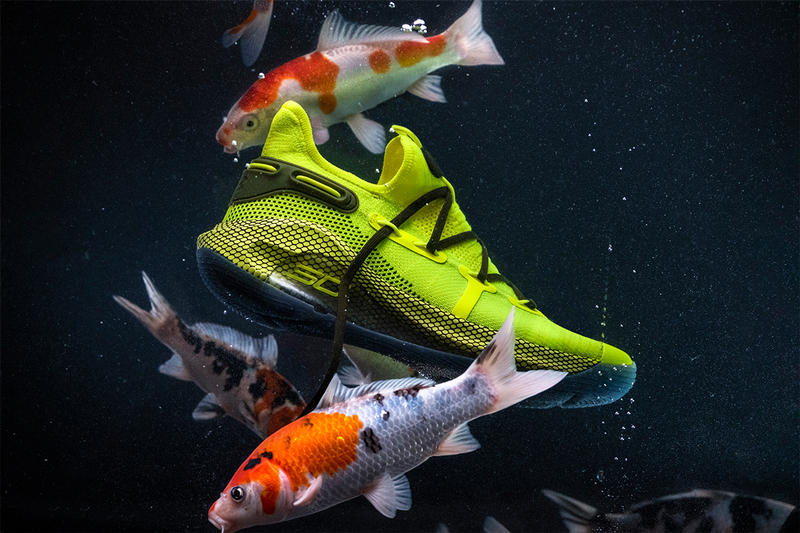 Under Armour Curry 6 全新「Coy Fish」配色登場
