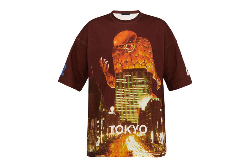 怪獸警報 – UNDERCOVER SS19 Kaiju T-Shirt 系列