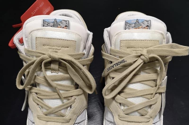 """福音戰士・既視感 − Virgil Abloh 曝光 Off-White™ 3.0 """"Off-Court Lows"""" 最新鞋款"""