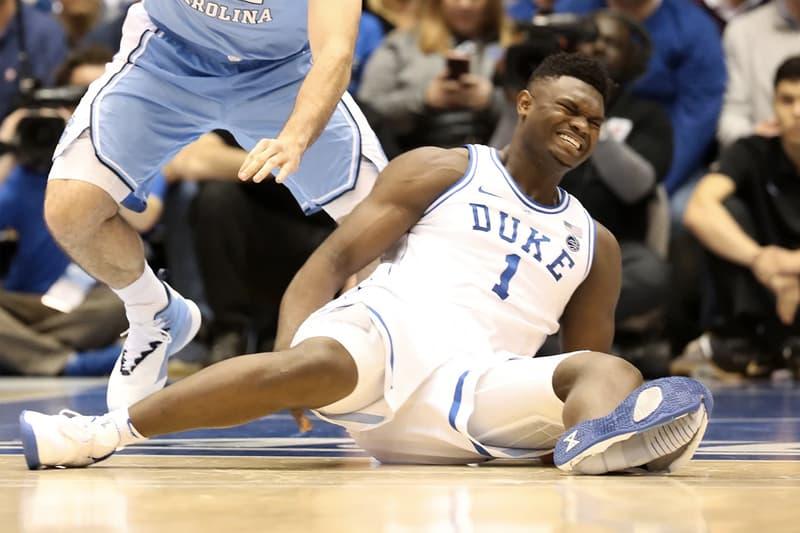 Nike 回應 Zion Williamson 開賽踏破球鞋受傷事件