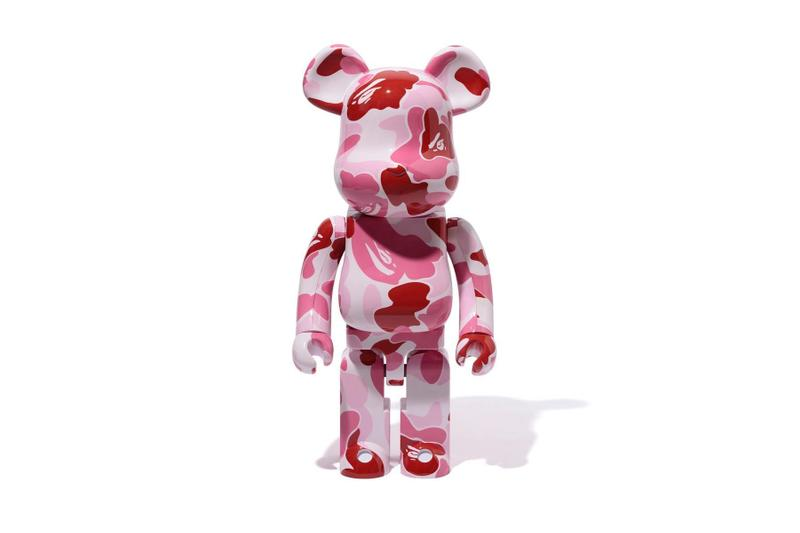 A BATHING APE® x Medicom Toy 全新聯乘 BE@RBRICK 玩偶系列來襲