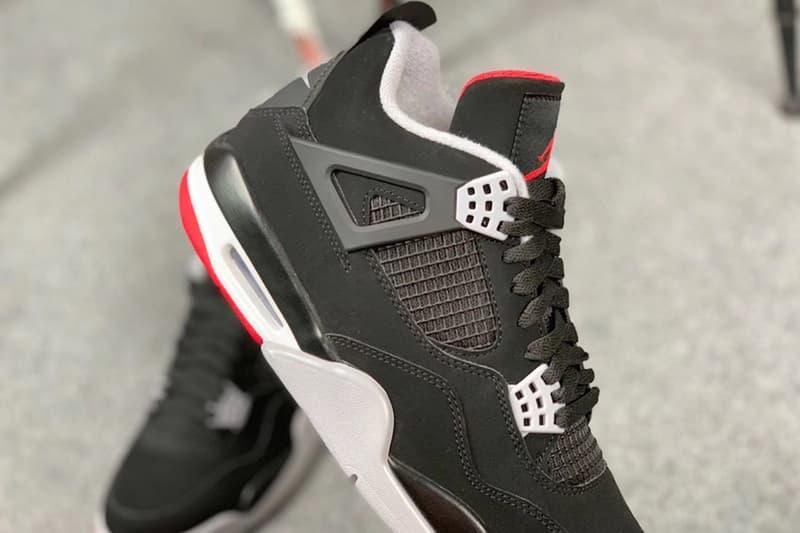 近賞細節!Air Jordan 4「Bred」2019 年復刻版本