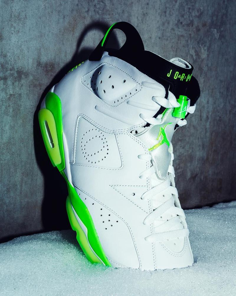 近賞 Air Jordan 6「Oregon Ducks」專屬 PE 版本