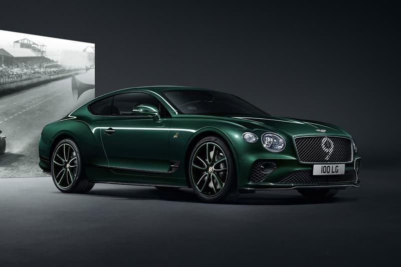 日內瓦車展 2019 − Bentley Continental GT 別注車型 Number 9 Edition 登場