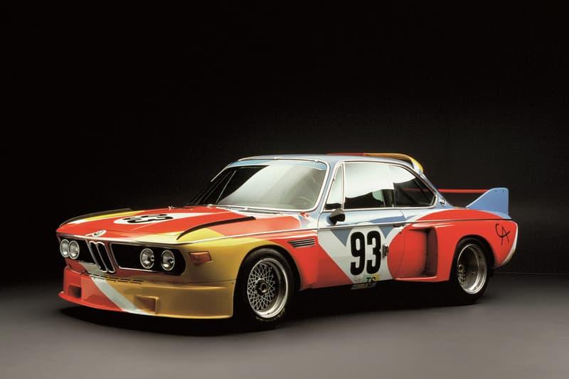 BMW 將於香港 Art Basel 展出 1975 年的首台 Art Car BMW 3.0 CSL