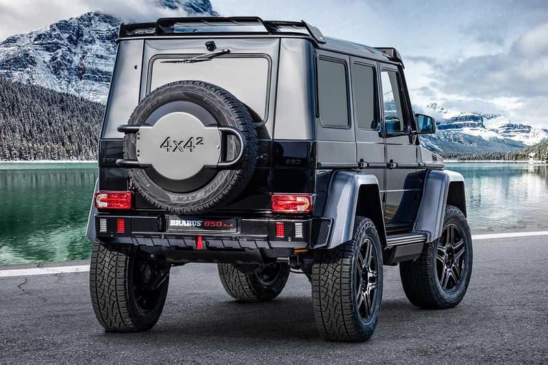 終極黑金剛 − Brabus 打造 G63 全新 4x4² 改裝車型