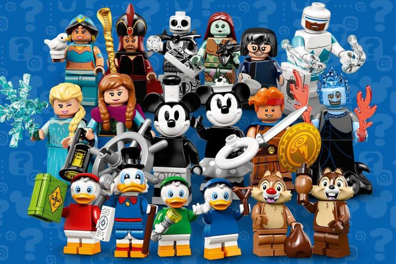 成員加盟-LEGO Minifigures 推出 Disney 主題第二彈
