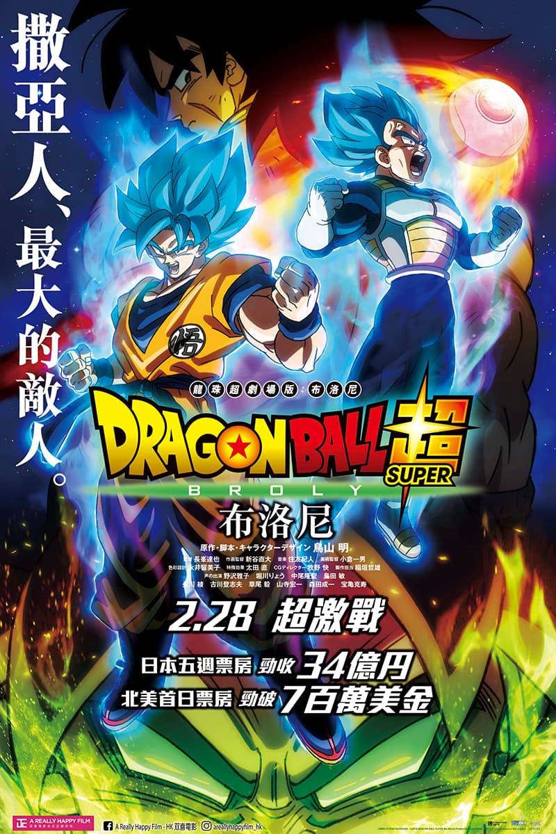 HYPEBEAST 送出《龍珠超劇場版:布洛尼》官方電影海報