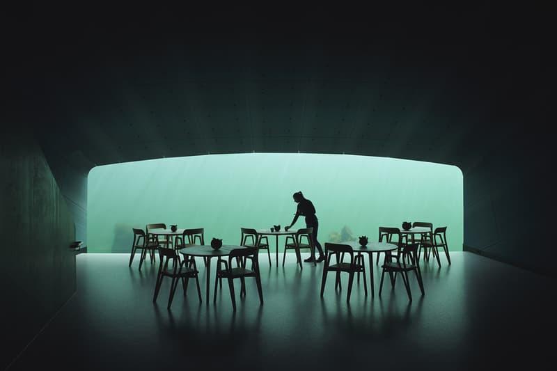 Snøhetta 最新力作!走進挪威水下餐廳「Under」