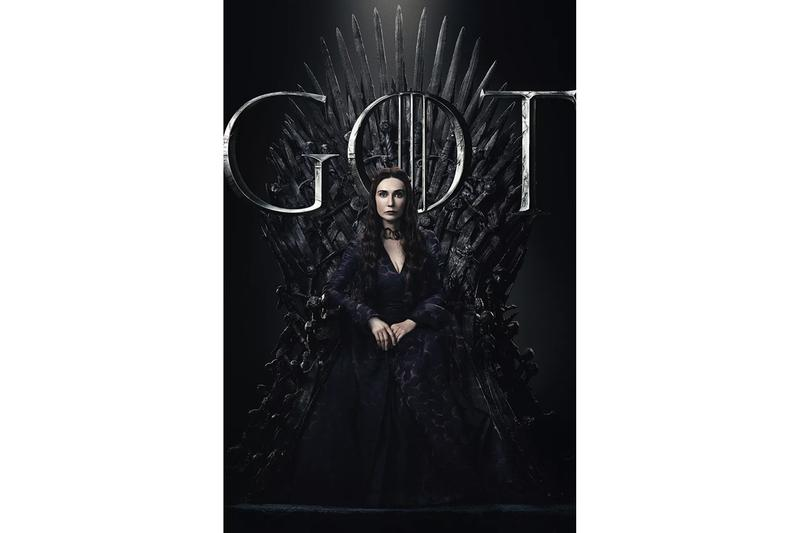 HBO 釋出《Game of Thrones》最終季各角色海報