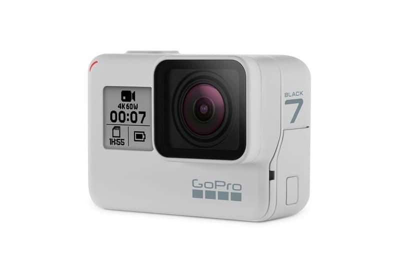 白色的黑?GoPro 首次推出白色機身 Hero 7 Black