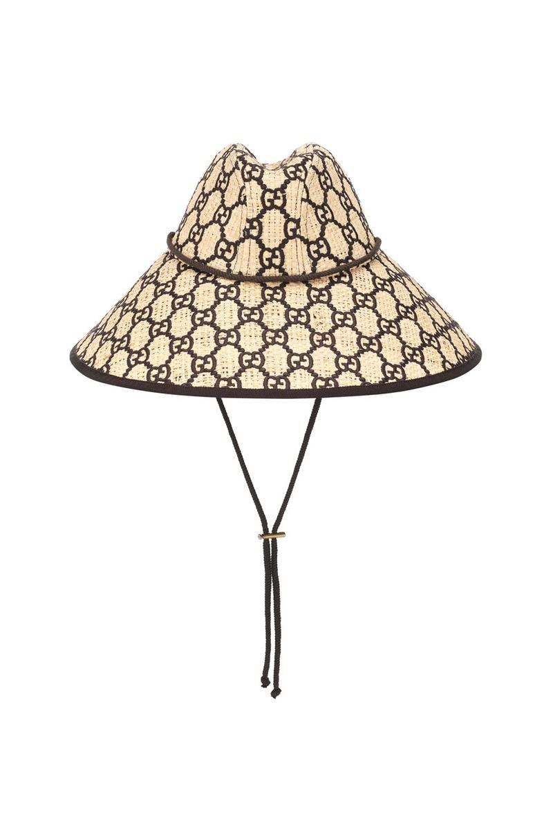 夏日神裝 − Gucci 推出全新 GG Raffia 寬沿草帽