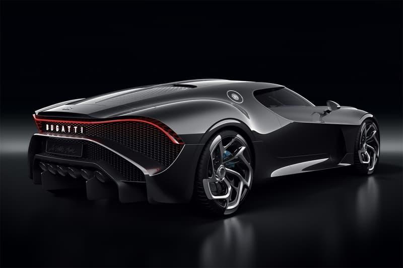 日內瓦車展 2019-Bugatti 發佈全新超豪跑車 La Voiture Noire
