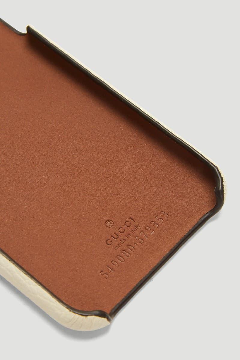 Gucci 以其復古懷舊標誌推出 iPhone X 保護套