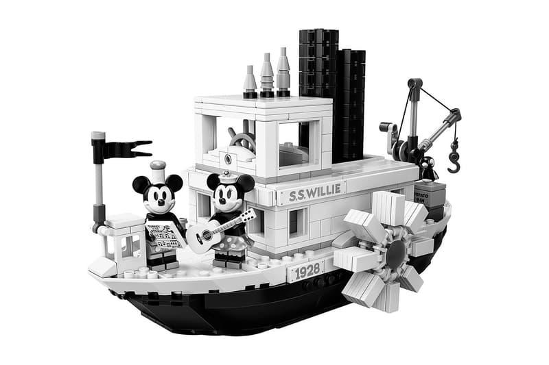 懷舊復興-LEGO Ideas 實裝 Disney 首部有聲動畫《Steamboat Willie》
