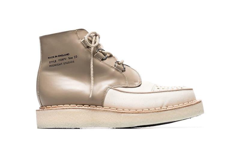 重施故技-Midnight Studios x George Cox 推出逆設計 Creeper 鞋款