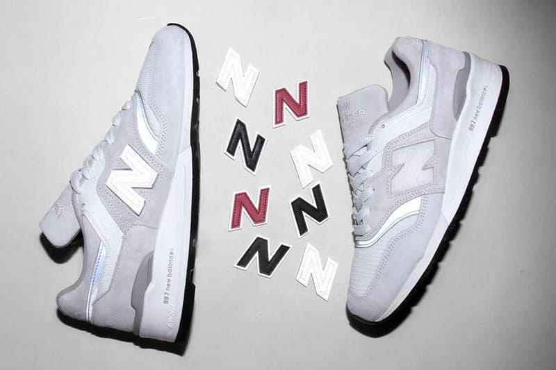 New Balance 推出可以置換「N」字 Logo 的美製 997 鞋款