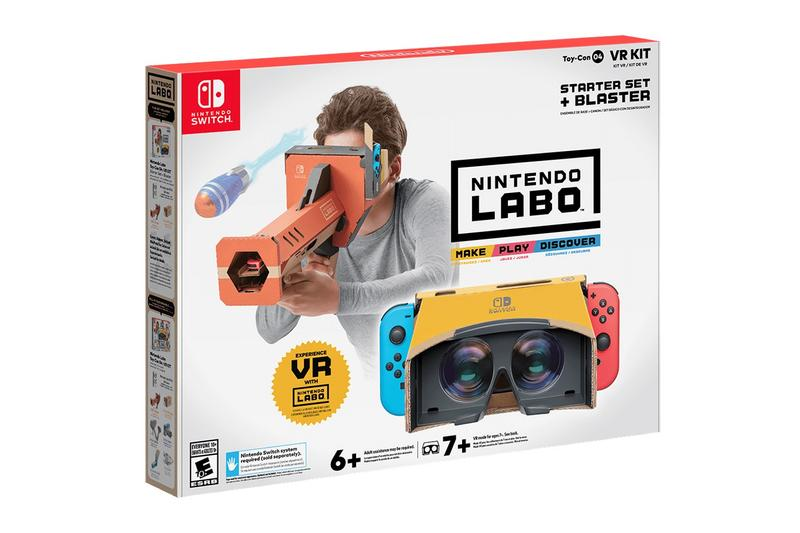融入遊戲世界-Nintendo Labo 推出全新 Switch VR 組件