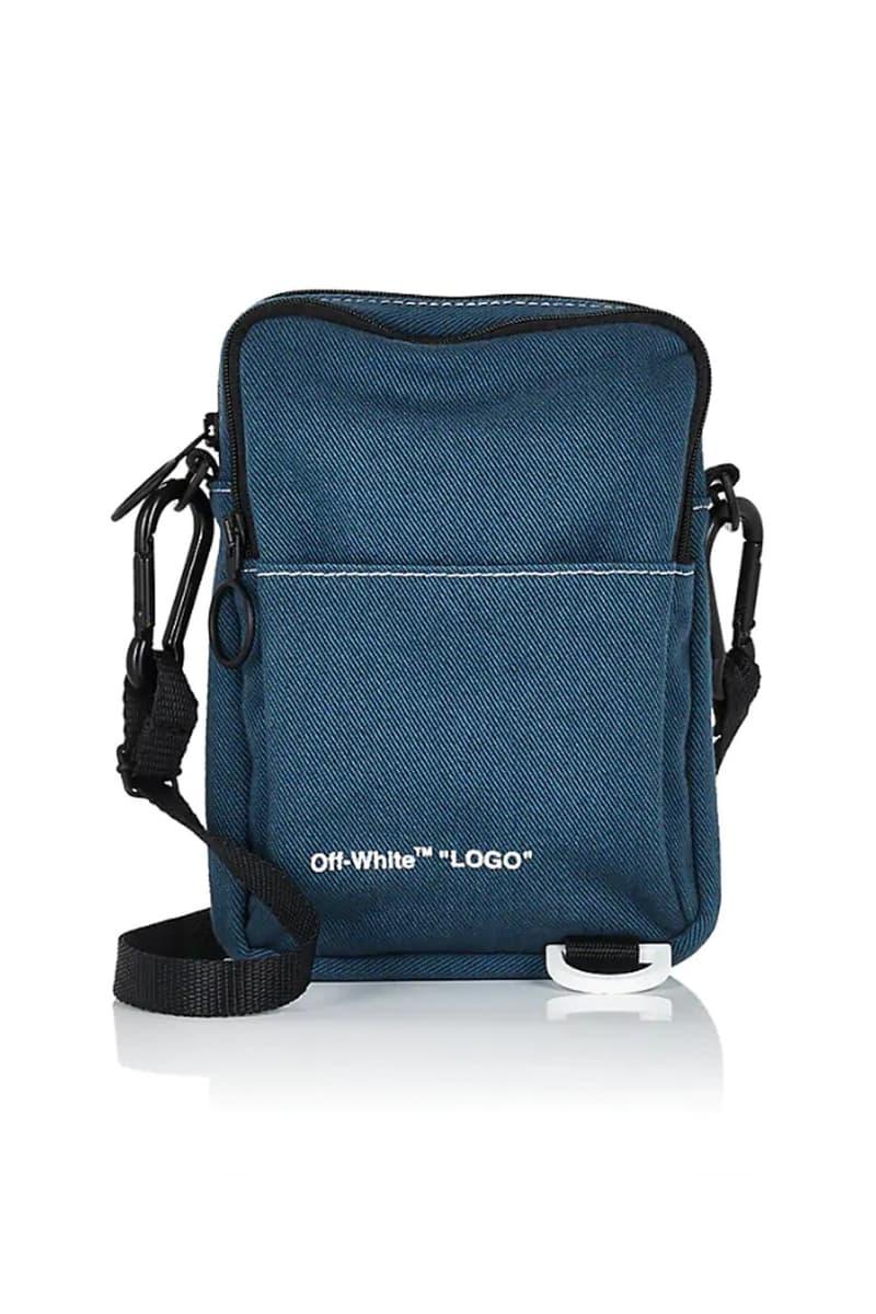 Crossbody Bag 設計!Off-White™ 推出全新丹寧相機袋