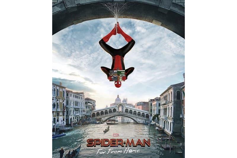 《Spider-Man: Far From Home》全新海報呈現歐洲三大地方