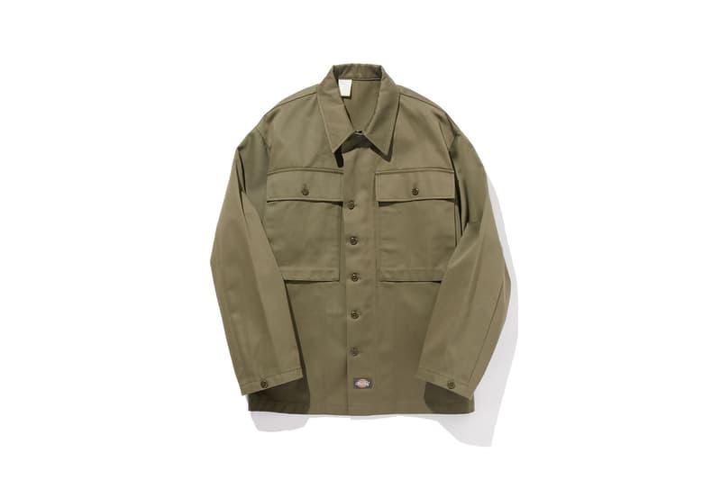 N.HOOLYWOOD x Dickies 攜手重塑四十年代美軍工作服