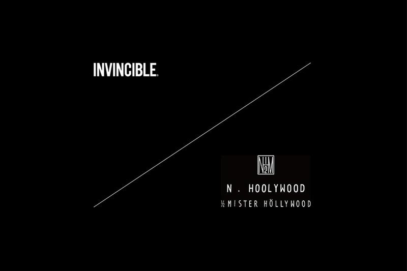 INVINCIBLE x N.HOOLYWOOD 首次聯乘即將到來
