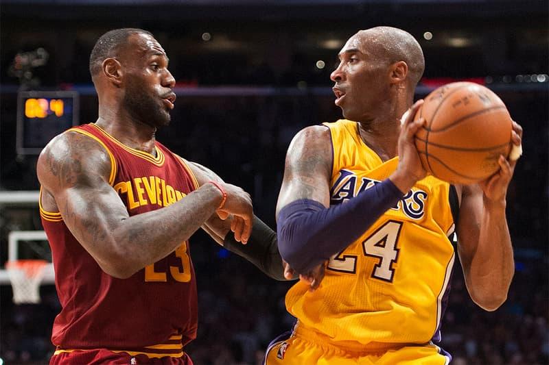 無緣季後賽 − Kobe Bryant 給予 LeBron James 精神鼓勵