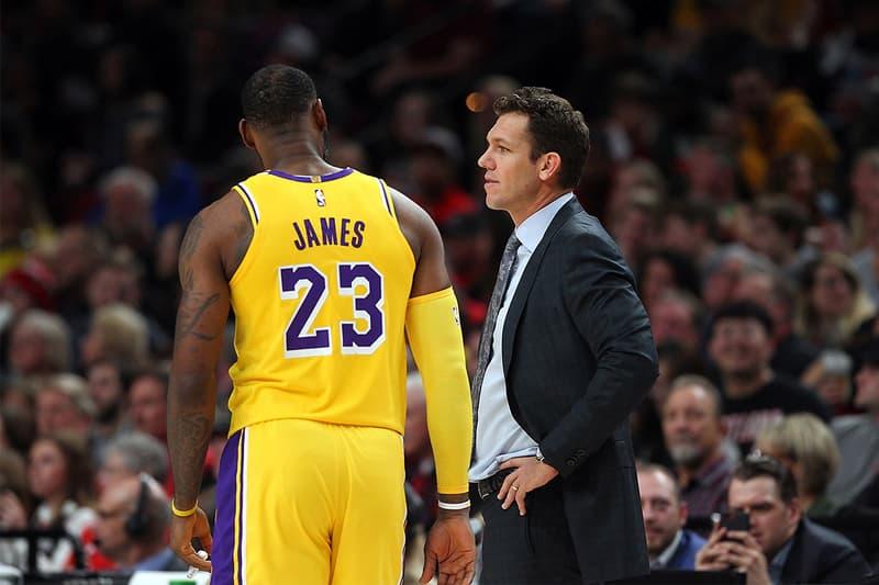消息稱 Lakers 將在賽季結束後解僱教練 Luke Walton