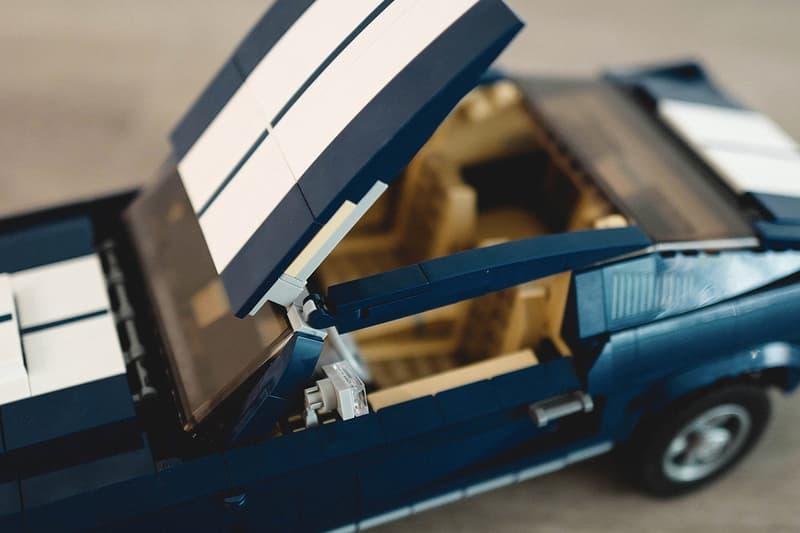 HYPEBEAST 近賞 LEGO Ford Mustang 60s 復古積木跑車模型