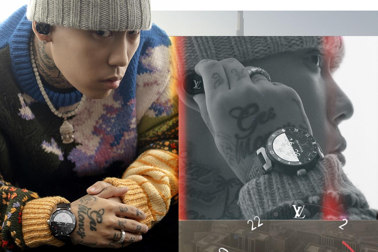 Colde、Crush、DOK2、Jessica、NS 允智演繹 Louis Vuitton 新作 — Tambour Horizon 智能腕錶及 Horizon Earphones