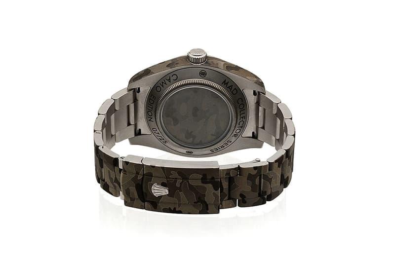 MAD Paris 打造全新 Rolex Milgauss「Camouflage」定製版本