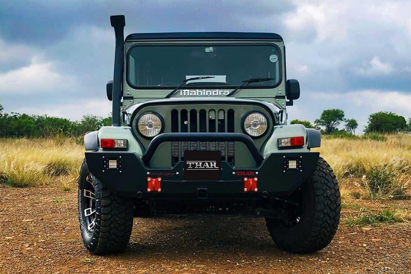 印度車廠 Mahindra 全新越野車型 Thar Adventure Series 發佈