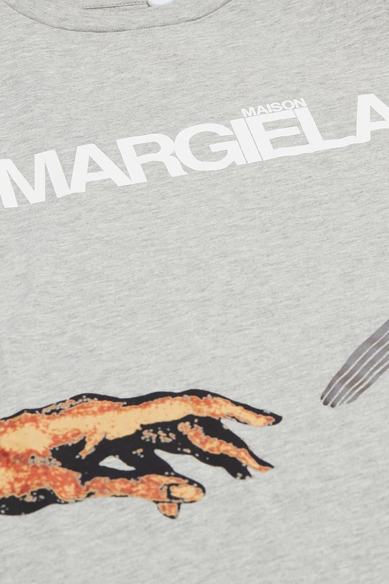 HYPEBEAST 送出 Maison Margiela 全新 Hand Graphic 上衣及 'STEREOTYPE' APPLIQUÉ 連帽衛衣