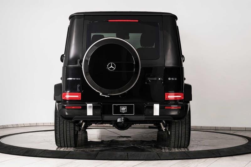 銅牆鐵壁 − Inkas 打造 Mercedes-AMG G63「防彈」改裝車型