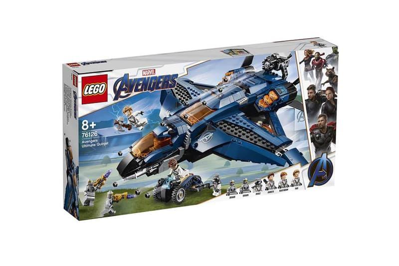 一舉公開多套《Avengers: Endgame》電影周邊 LEGO 玩具