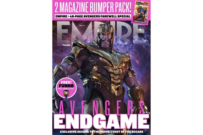 Marvel 年度史詩大片《Avengers: Endgame》登上《Empire》最新封面