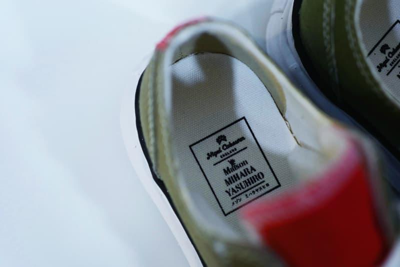 近賞 Nigel Cabourn x Maison MIHARA YASUHIRO 首回聯乘鞋款