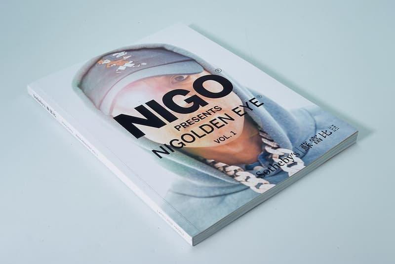 NIGO® x 蘇富比「NIGOLDENEYE® Vol. 1」拍賣會藏品圖鑑釋出