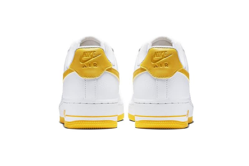 搶先預覽 Nike Air Force 1 全新白黃配色