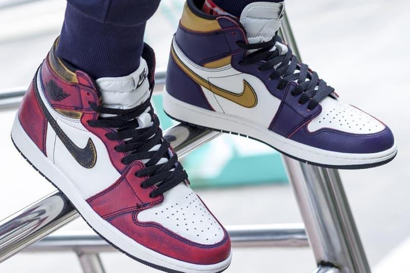 率先近賞 Nike SB x Air Jordan 1「Lakers」、「Chicago」上腳預覽