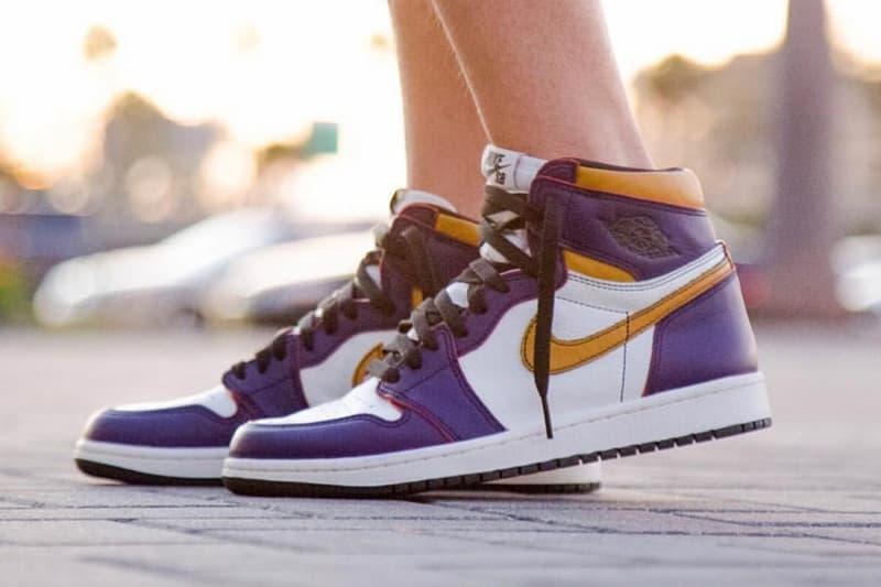搶先預覽 Nike SB x Air Jordan 1 全新「Lakers」配色
