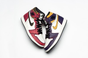 Nike SB x Air Jordan 1「Lakers」中竟然還藏著一雙「Chicago」?