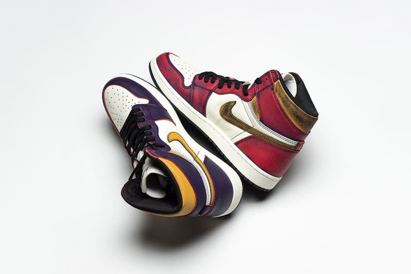 Nike SB x Air Jordan 1「Lakers」中竟然還藏著一雙「Chicago」?