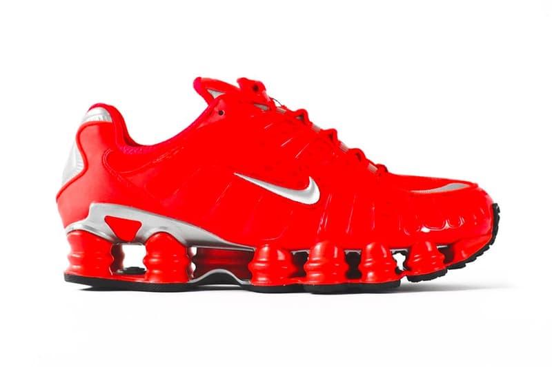 經典回歸 − 2003 年 Nike Shox TL 迎來「Speed Red/Metallic Silver」配色復刻