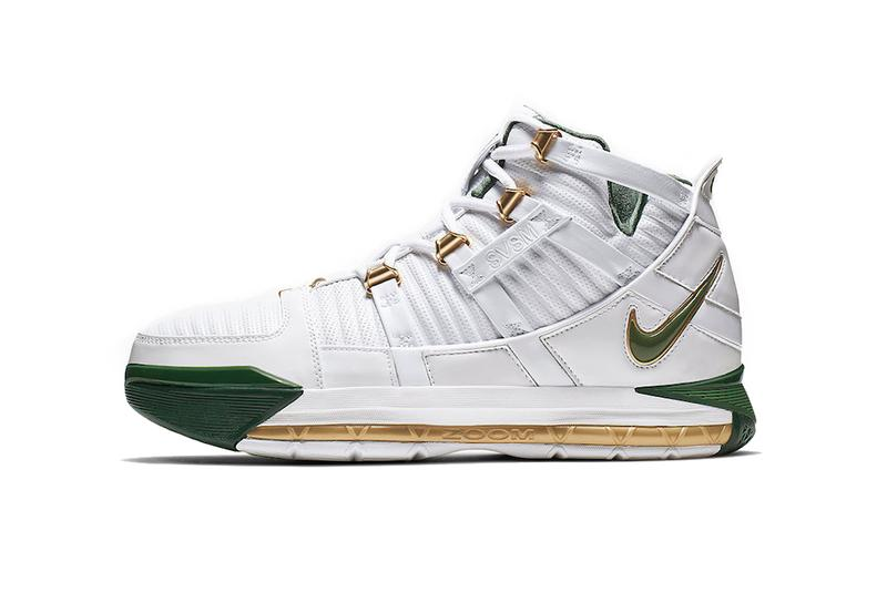 Nike 將復刻推出 Zoom LeBron 3「SVSM」別注配色