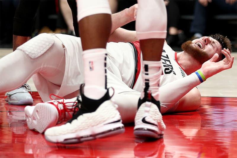 NBA 眾星發文替 Blazers 先發中鋒 Jusuf Nurkic 重大受傷打氣致意